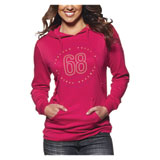 Thor Button Ladies Hooded Sweatshirt