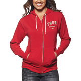 Thor Shop Ladies Zip-Up Hooded Sweatshirt