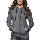 Thor Winner's Circle Ladies Zip-Up Hooded Sweatshirt