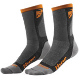 Thor Dual Sport Cool Socks Grey/Orange