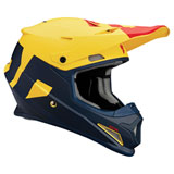 Thor Sector Level Helmet Navy/Yellow