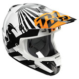 Thor Verge Dazz Helmet Flo Orange/White