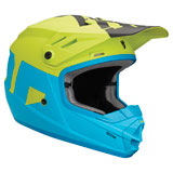Thor Youth Sector Level  Helmet Blue/Lime