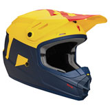 Thor Youth Sector Level  Helmet Navy/Yellow