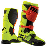 Thor Radial MX Boots Flo Orange/Flo Yellow