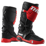 Thor Radial MX Boots Red/Black