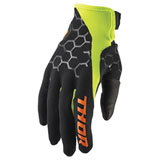 Thor Draft Gloves 2020 Black/Acid