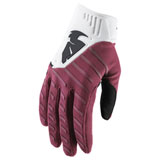 Thor Rebound Gloves 2019 Maroon/White