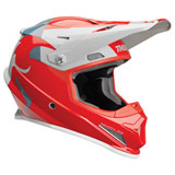 Thor Sector Shear Helmet Red/Light Grey