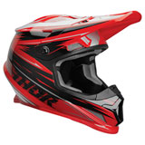 Thor Sector Warp Helmet Red/Black