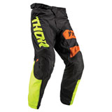 Thor Youth Pulse Big Kat Pant Black/Lime