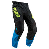 Thor Youth Pulse Air Acid Pant Electric Blue/Black