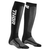Thor Youth MX Cool Socks Charcoal/Black