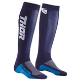 Thor Youth MX Cool Socks Navy/White