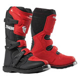 Thor Youth Blitz XP Boots Red/Black