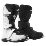 Thor Youth Blitz XP Boots White/Black