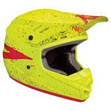 Thor Youth Sector Hype Helmet Acid/Red