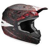 Thor Youth Sector Hype Helmet Black/Coral