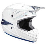 Thor Youth Sector Hype Helmet White/Blue