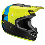 Thor Youth Sector Shear Helmet Black/Acid