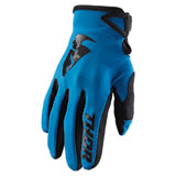 Thor Youth Sector Gloves Blue