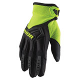 Thor Spectrum Gloves Black/Acid