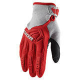Thor Spectrum Gloves Red/Grey