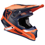 Thor Sector Split MIPS Helmet Orange/Navy