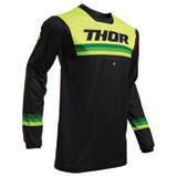 Thor Pulse Pinner Jersey Black/Acid