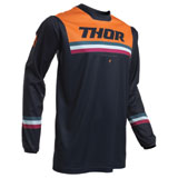 Thor Pulse Pinner Jersey Midnight/Orange