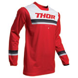 Thor Pulse Pinner Jersey Red