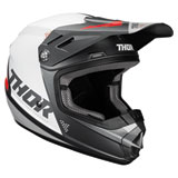 Thor Youth Sector Blade Helmet Charcoal/White