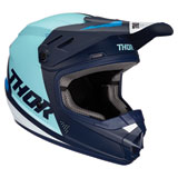 Thor Youth Sector Blade Helmet Navy/Blue