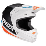 Thor Youth Sector Blade Helmet White/Navy