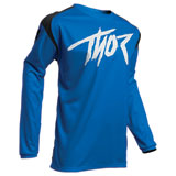 Thor Youth Sector Link Jersey Blue