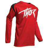Thor Youth Sector Link Jersey Red