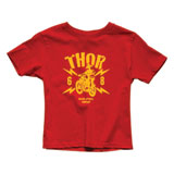 Thor Youth Lightning T-Shirt Red