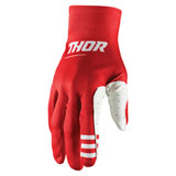 Thor Agile Plus Gloves Red