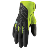 Thor Draft Gloves Black/Acid