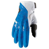 Thor Draft Gloves Blue/White