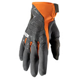 Thor Draft Gloves Charcoal/Orange