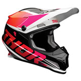 Thor Sector Fader Helmet Orange/Magenta