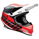 Thor Sector Fader Helmet Red/Black