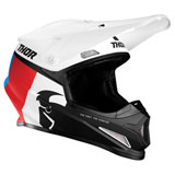 Thor Sector Racer Helmet White/Blue/Red