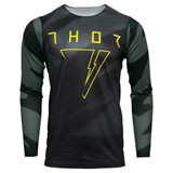 Thor Prime Pro Cast Jersey Military Green/Black
