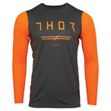 Thor Prime Pro Unrivaled Jersey Charcoal/Orange