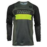 Thor Pulse Racer Jersey Army Green