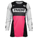 Thor Women's Pulse Racer Jersey Black/Pink