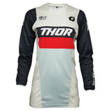 Thor Women's Pulse Racer Jersey White/Midnight