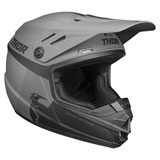 Thor Youth Sector Racer Helmet Black/Charcoal